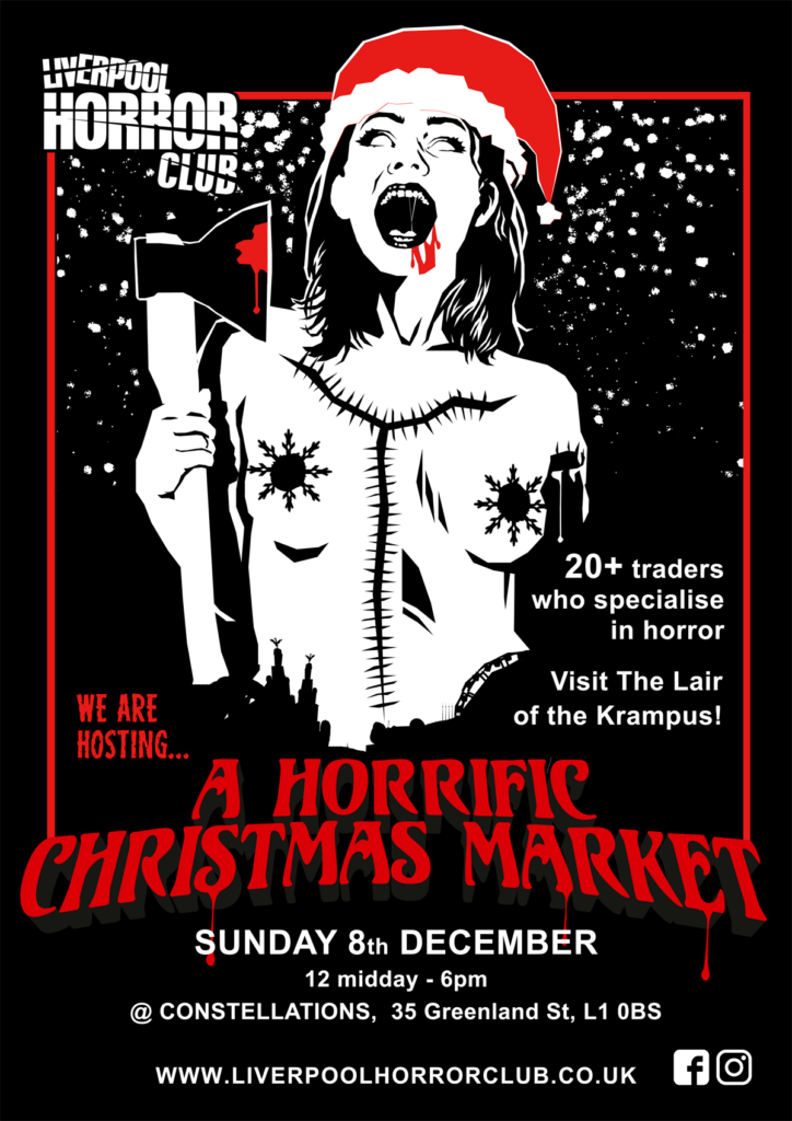 Poster for Horrific Christmas Market